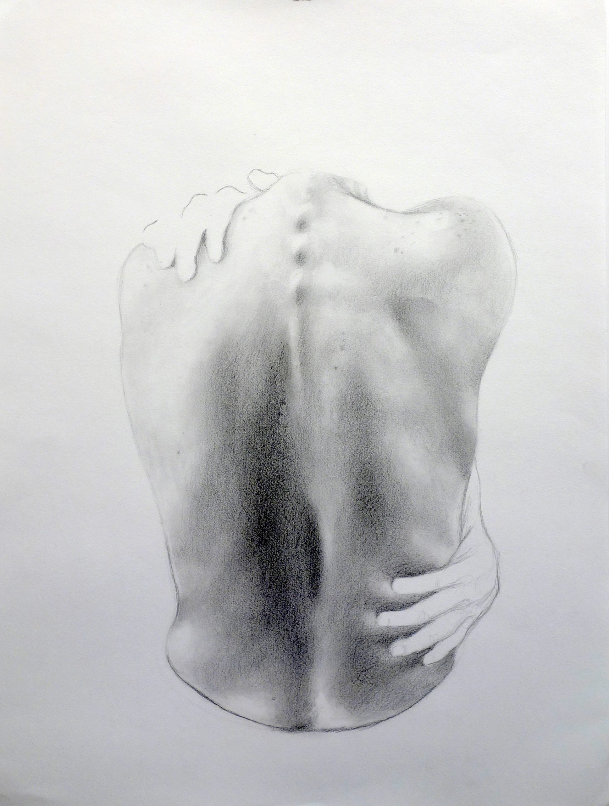 Lilli Cameron, Disconnected III, 2019. Graphite on paper.